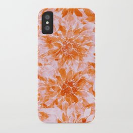 The Smell of Spring 3 / Monochrome / Apricot iPhone Case