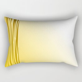 Wild lines on gold. Tiger lines Rectangular Pillow