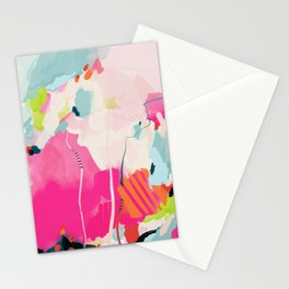 pink sky II Stationery Cards