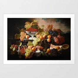 Abundance of Fruits Art Print