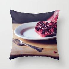 pomegranate, 2 Throw Pillow