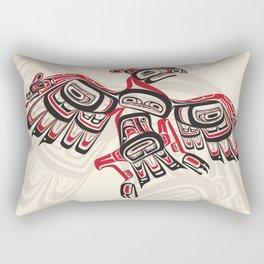 Salish Thunderbird Rectangular Pillow