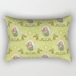 Anne Bonny, Legendary Irish Pirate Rectangular Pillow