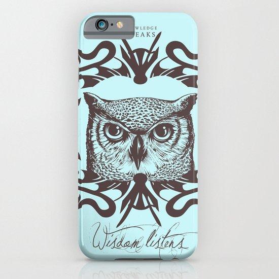 Wisdom Listens iPhone & iPod Case