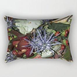 Nature Wildflowers 2 Rectangular Pillow