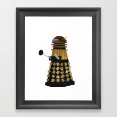 Dalek (Collage) Framed Art Print