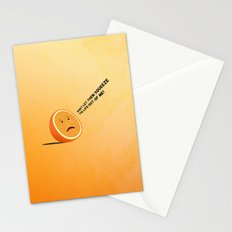 Orange Juice Stationery Cards