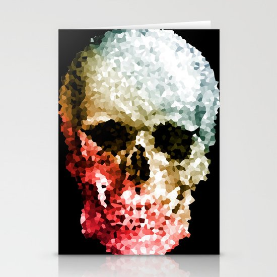 Skull Coloride Stationery Cards