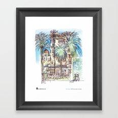 "Shiho Nakaza, ""Castle Green, Pasadena"" Framed Art Print"