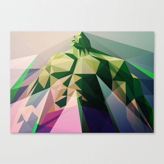 Mad Man Canvas Print