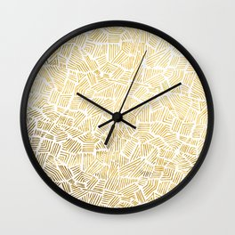 Inca Sun Wall Clock
