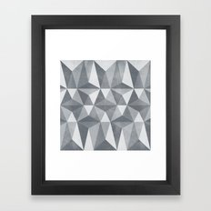 Nordic Combination 33 Framed Art Print
