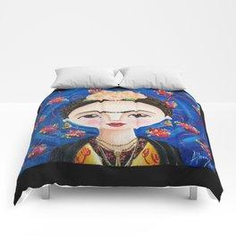 Frida, Intimidades del Corazón Comforters