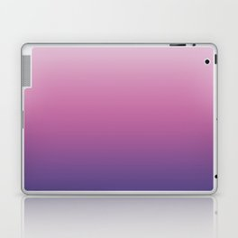 Pink Ultra Violet Ombre Gradient Pattern Laptop & iPad Skin