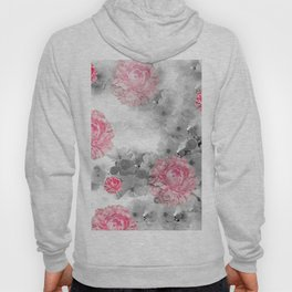 ROSES PINK WITH CHERRY BLOSSOMS Hoody