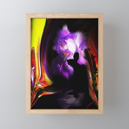 Abstract pefection -Lily Framed Mini Art Print
