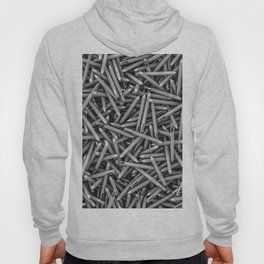 Pencil it in B&W / 3D render of hundreds of pencils in black and white Hoody