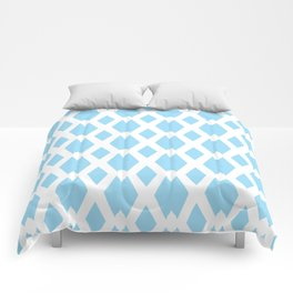 Daffy Lattice Sky Comforters