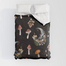Mushroom Moon Comforters