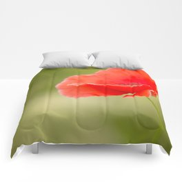 Miss you so much Red Poppy #decor #society6 Comforters
