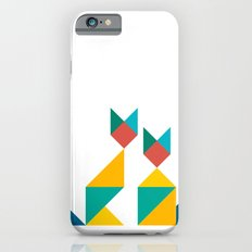 Tangram Cats 1 iPhone 6s Slim Case
