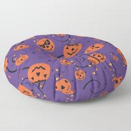 Halloween Magic- Purple Floor Pillow