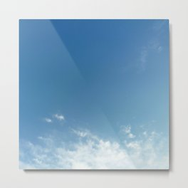 Cloud and sky 11 Metal Print