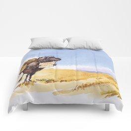 greener grass Comforters