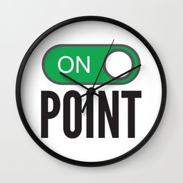 Onpoint (ON Point) Wall Clock