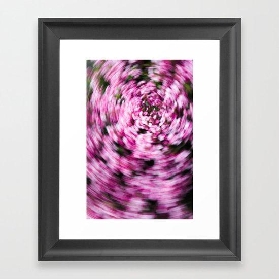 Hawthorn Daze Framed Art Print