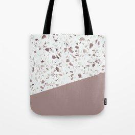 Terrazzo Texture Antique Pink #6 Tote Bag