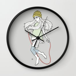 skip and jump Wall Clock
