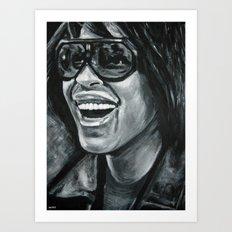 keep smiling! Art Print