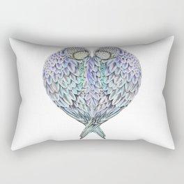 LOVE BIRDS IN COLOUR Rectangular Pillow