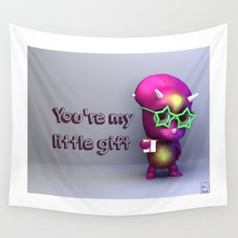 Tria Gift Love Wall Tapestry