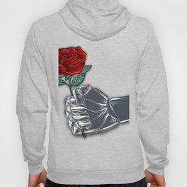 Rubino Robot Fist and Flower Hoody