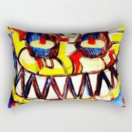 smiley face & the T6 Rectangular Pillow