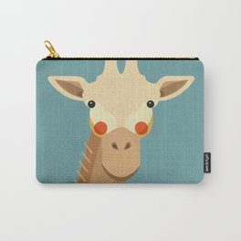 Giraffe, Animal Portrait Carry-All Pouch