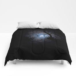 Everglades Moon Comforters