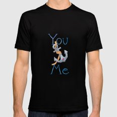 You Anchor Me Black Mens Fitted Tee SMALL
