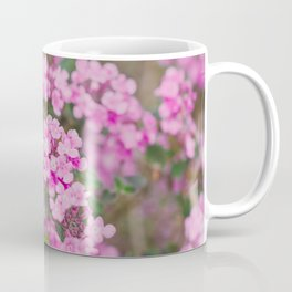 Purple Flowers in the Field Coffee Mug