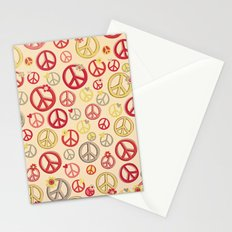 Love and Peace to you , Brother Stationery Cards