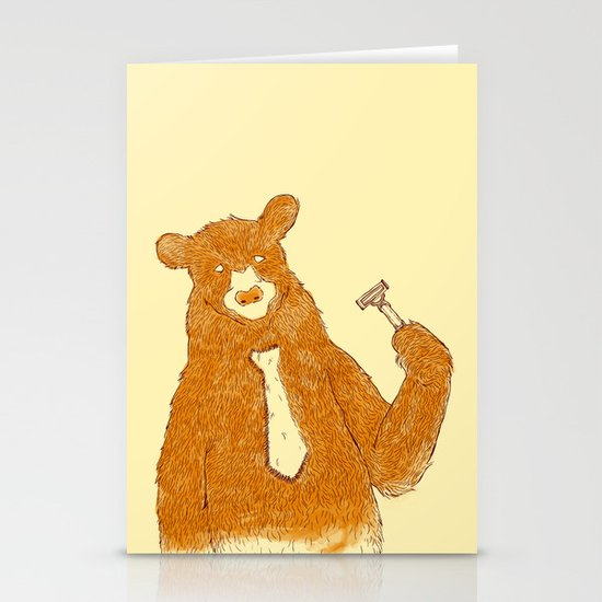 Office Bear Stationery Cards