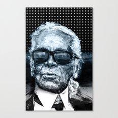 Karl Lagerfeld Canvas Print