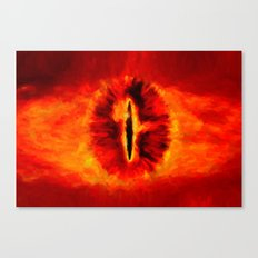 Eye of Sauron - Painting Style Canvas Print