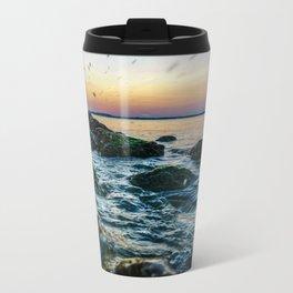 Waco Waves Metal Travel Mug