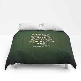 Teach Me Comforters