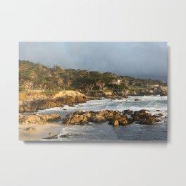Monterey Coast Metal Print