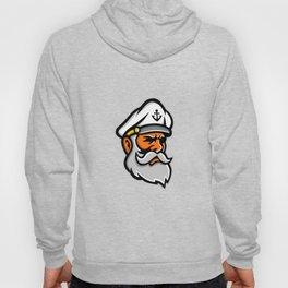 Seadog Sea Captain Head Mascot Hoody