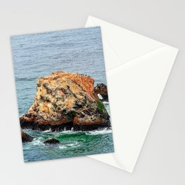 Autumn Morning At Devil's Slide, Pacifica CA Stationery Cards